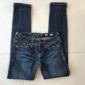 Miss Me Distressed Skinny Jeans J249